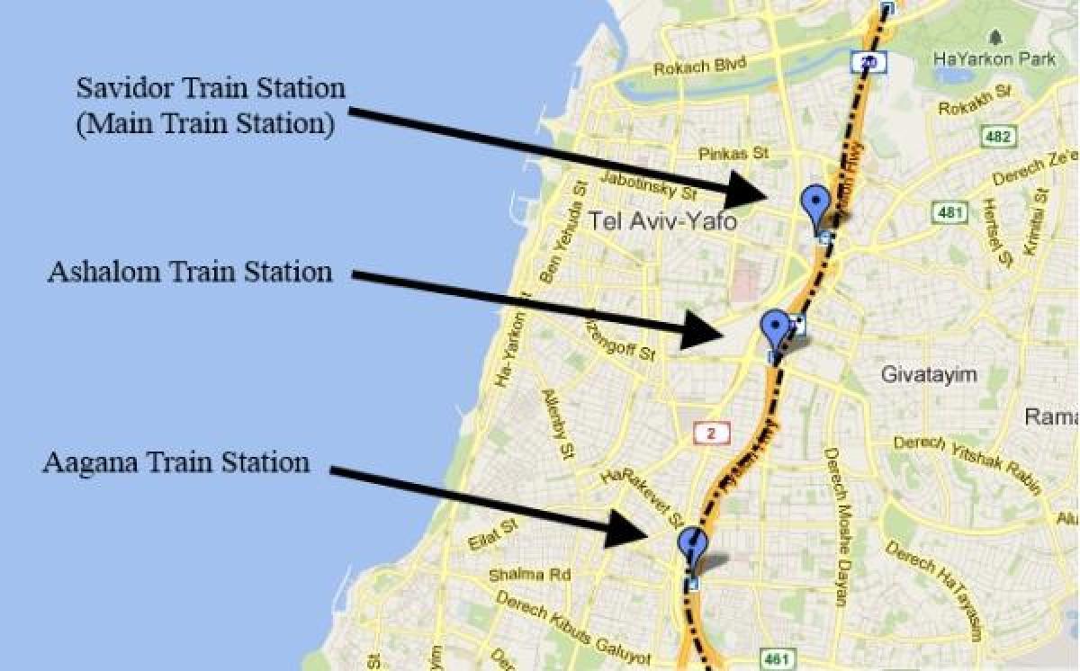 Israel kartta